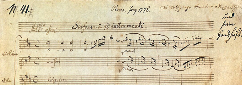 musical works of Mozart